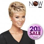 LUXHAIR NOW Synthetic Hair Wig Textured Pixie