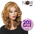 LUXHAIR NOW Synthetic Lace Wig Casual Curl