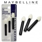 MAYBELLINE 3 Eye Shadow Applicators with Silky-soft Foam Tips