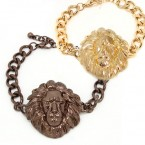 Majestic Lion Head Bracelet