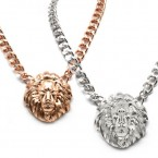 Majestic Lion Head Necklace