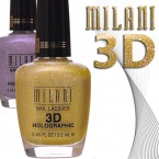 MILANI Nail Lacquer 3D Holographic