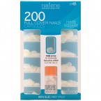 Nailene 200 Full Cover Nails Petite Square 12 Sizes