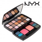 NYX Boheme Chic Nude Matte Shadows Makeup Set