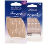 Nailene French So Real Nails 24 Nails 12 Sizes
