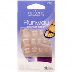 Nailene Runway Perfect Toes Nails 48 Nails 24 Sizes