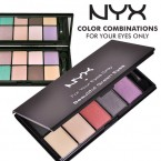 NYX 10-Color Eye Shadow Palette