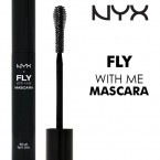 NYX Fly With Me Mascara-Jet Black