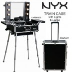 NYX Makeup Artist Train Case with Lights X-Large