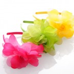 Organza Mix Flower Headband
