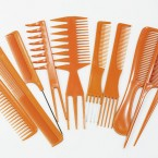 Professional Styling 10pcs Comb Set
