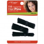 Assorted Size Hair Pins With Ball Tip (1 3/4