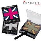 RIMMEL LONDON Glam' Eyes HD Quad Eye Shadow