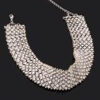 Rhinestone Princesse Choker Necklace
