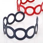 Round Pattern Plastic Headband