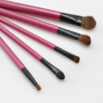 Studio Basics Essential 6PC Eye Set - Brushes with Cosmetic Case (Limited edition)