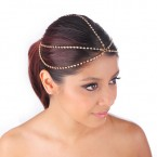Stone Chain Head Grecian Circlet