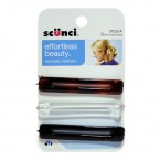Scunci Effortless Beauty Everyday Fashion Hair Pins 3Pcs