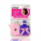 SCUNCI Girl Ribbon Hair Clip 2Pcs
