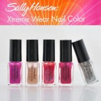 Sally Hansen  Xtreme Wear Nail Color 5 PC Set
