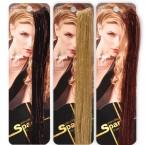 SCUNCI Hot Streaks Clip On Sparkle Hair Piece