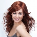 Synthetic Hair Wig Mimosa Sunflower
