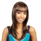 Synthetic Hair Wig Motown Tress Simple Cap Cambell
