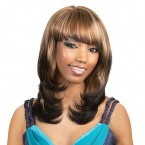 Synthetic Hair Wig Motown Tress Simple Cap Kristal