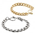 Simply Metal Interlocking Link Bracelet