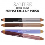 SANTEE Double Colour Perfect Eye & Lip Pencil