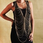 Vest Body Chain with Rhinestone-Choose Your Favorite!