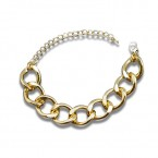 Chunky Gold Chained Anklet