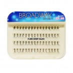Kiss Broadway Eyes Individual Eyelashes - FLARE SHORT