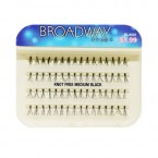 Kiss Broadway Eyes Individual Eyelashes - KNOT FREE MEDIUM