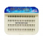 Kiss Broadway Eyes Individual Eyelashes - KNOT FREE SHORT