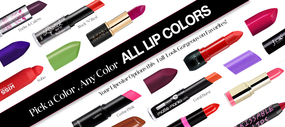 All Lip Colors