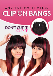 Clip on bang