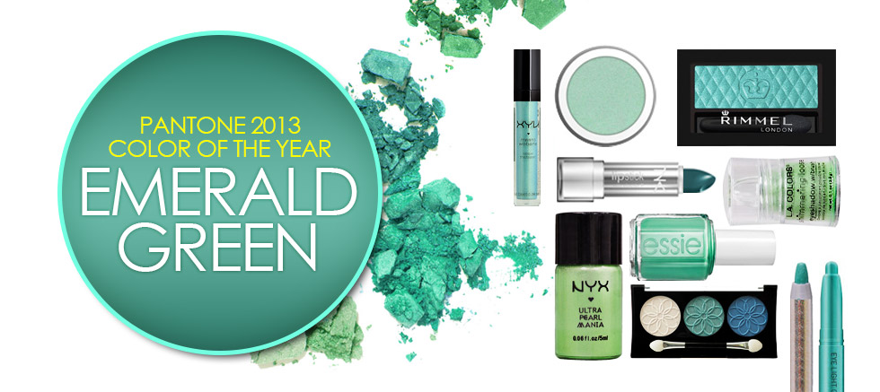2013 TREND COLOR EMERALD GREEN