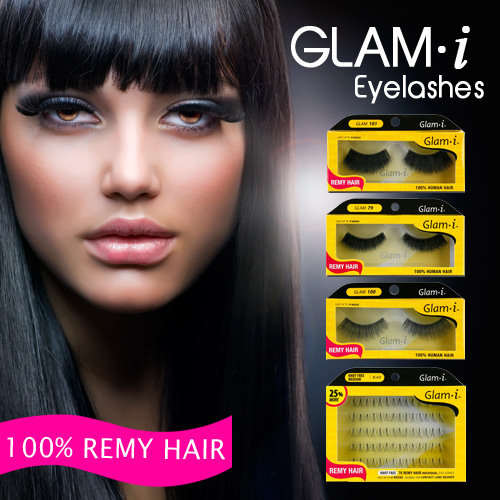 Natural Remy Hair Fashion Lashes 84