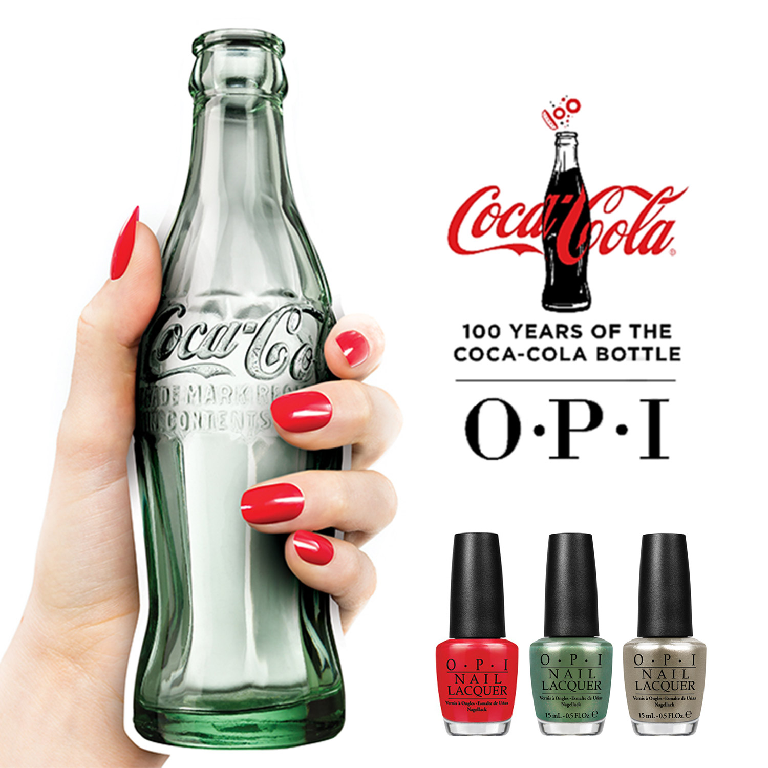 OPI 100 Years of the Coca-Cola Bottle Limited Edition Nail Lacquer