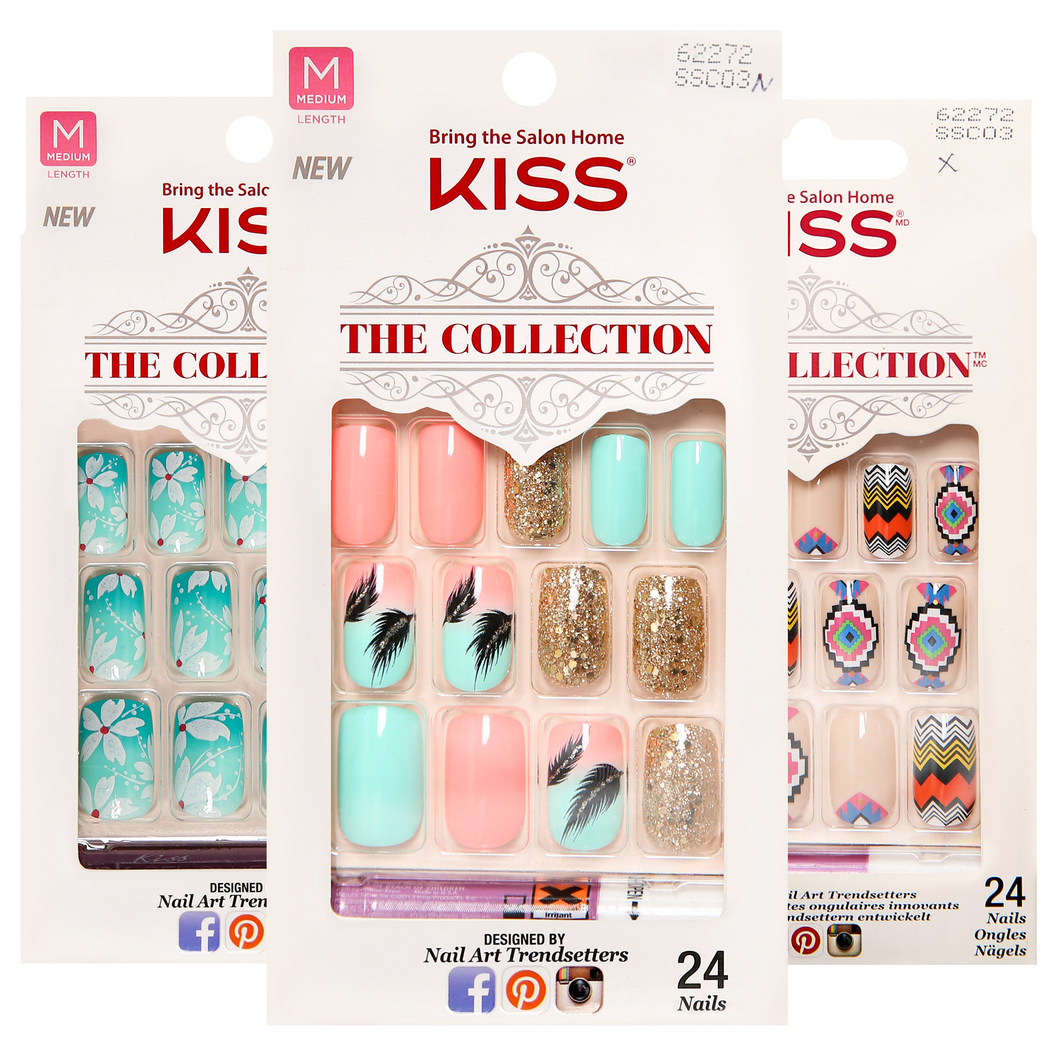 Kiss The Collection 24 Nail Kit