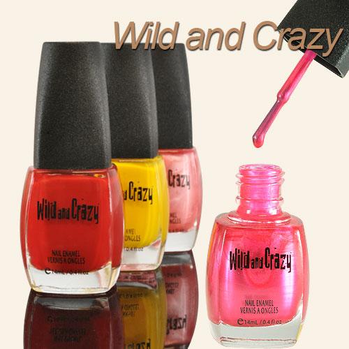 Wild And Crazy Nail Polish
